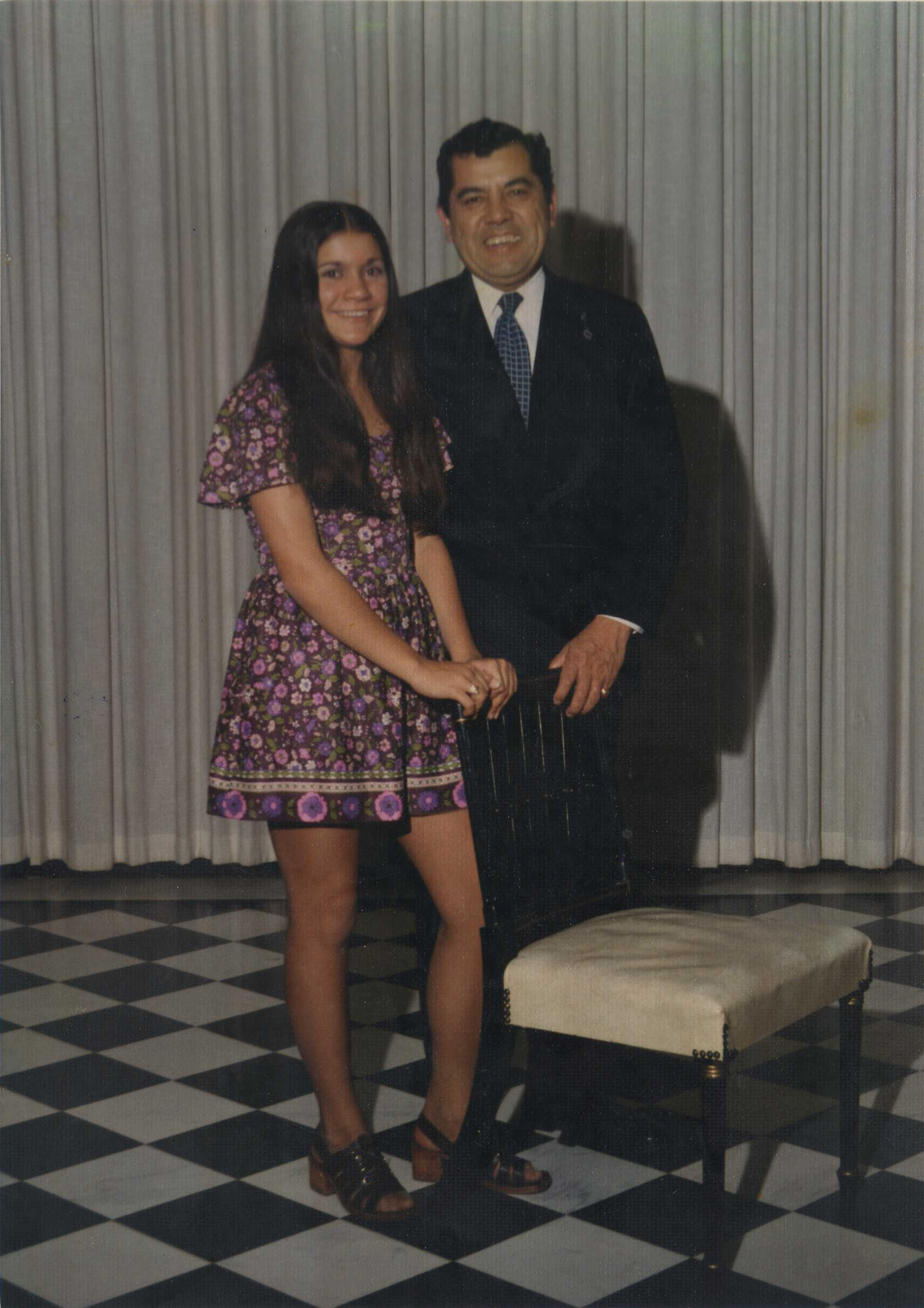 Father Daughter Dance Circa 1974
