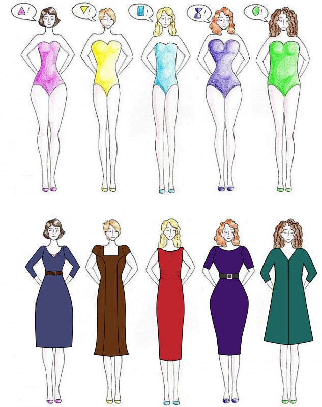 How To Dress For Different Shapes Archives Trending Lightly
