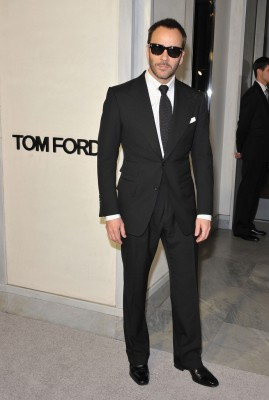 Have you ever seen Tom Ford in anything other than a black suit?