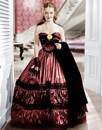 This headstrong southern belle wears a brazen red dress to a ball (where the single  women wear only white) and then loses the man she loves.