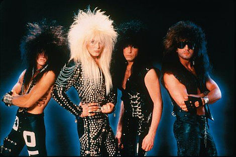 The 80s had it all, big hair, shiny fabric and lots of Lycra