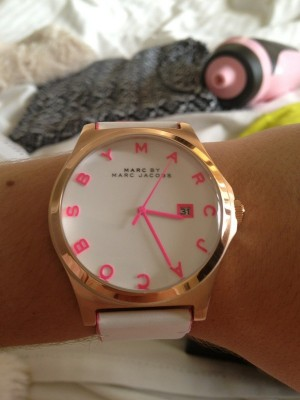 Over-sized watch by Marc Jacobs