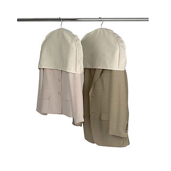 Shoulder covers are available in both cloth and plastic. Always go with cloth.
