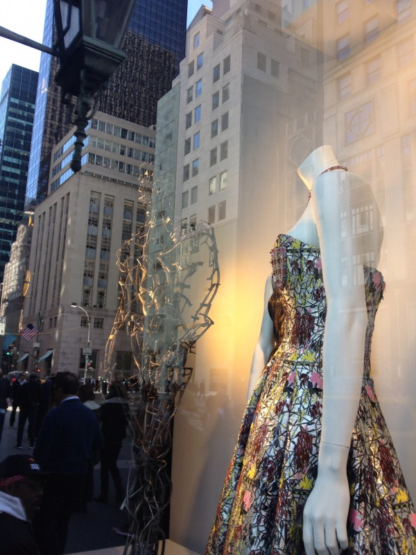 Window at Bergdorf Goodman