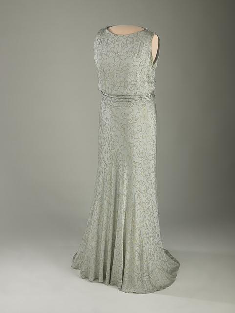 Eleanor Roosevelt's inaugural gown 1933
