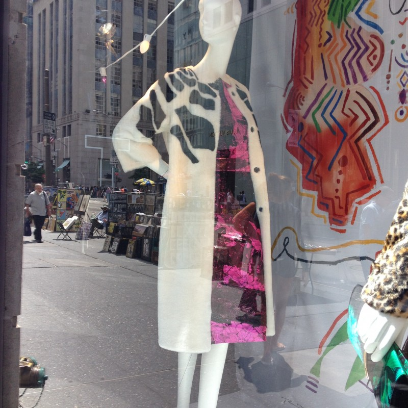 Bergdorf Goodman's Fall 2014 Window