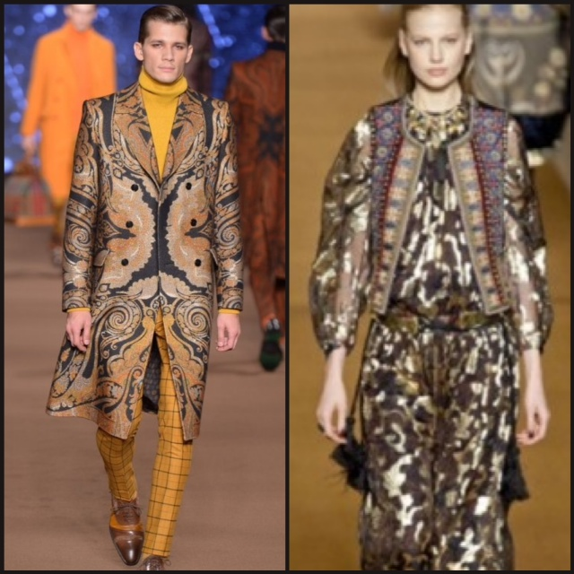From Etro's Fall 2014 Collection