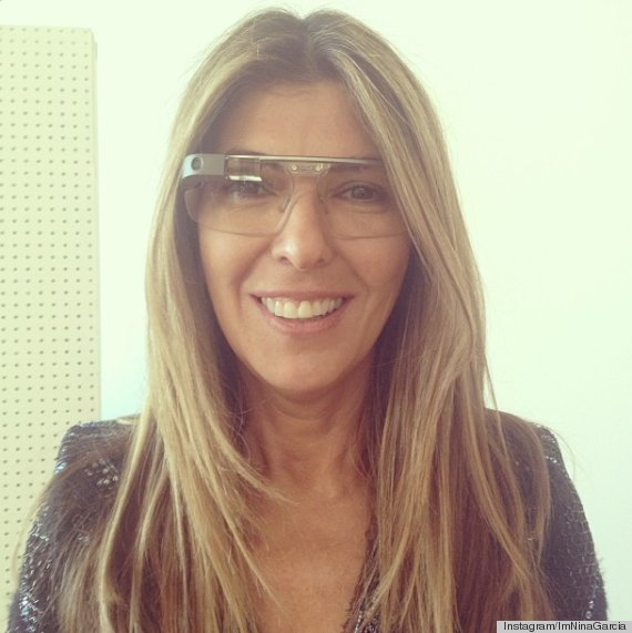 Nina Garcia in Glass