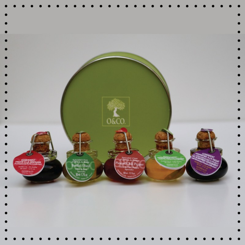 Oil & Vinegar Sampler