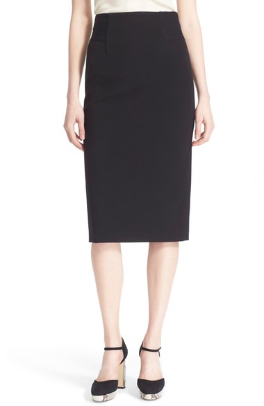 Diane von Furstenberg Geri Knit Pencil Line Skirt $268