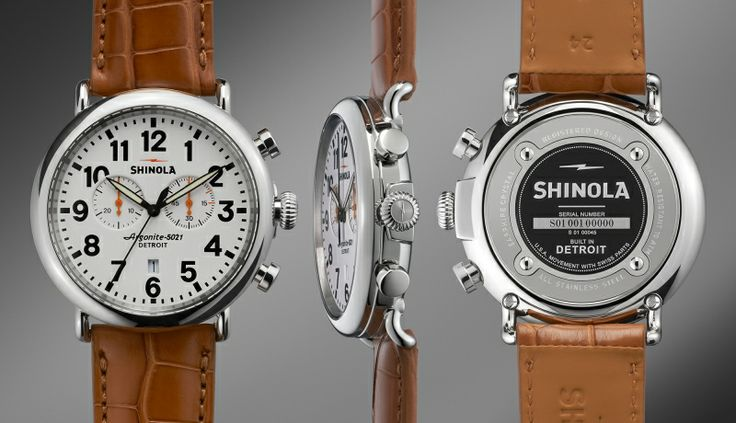 Shinola watch. Made in the US $650