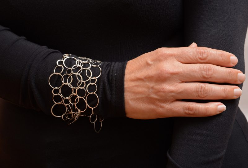 Wrap it around your wrist several times for a brilliant bracelet